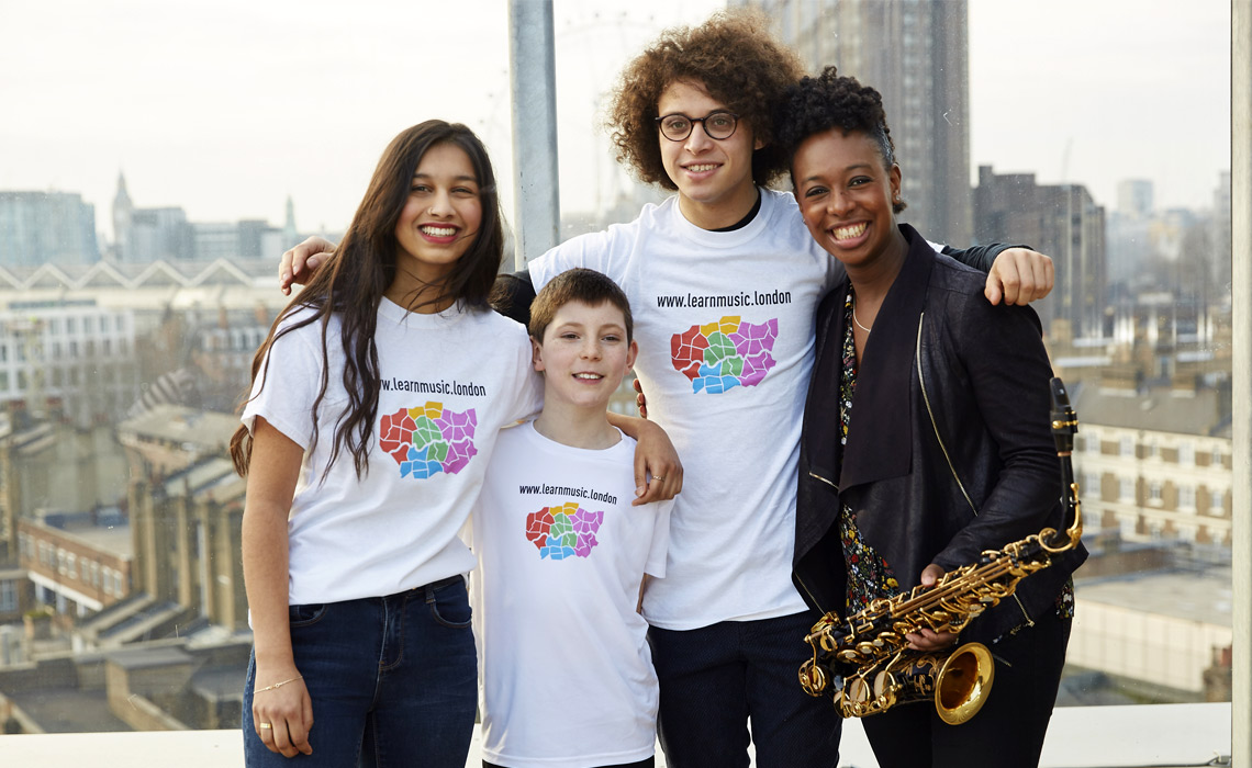 Learn Music London education programme example of marketing and social media content created by Communitas PR